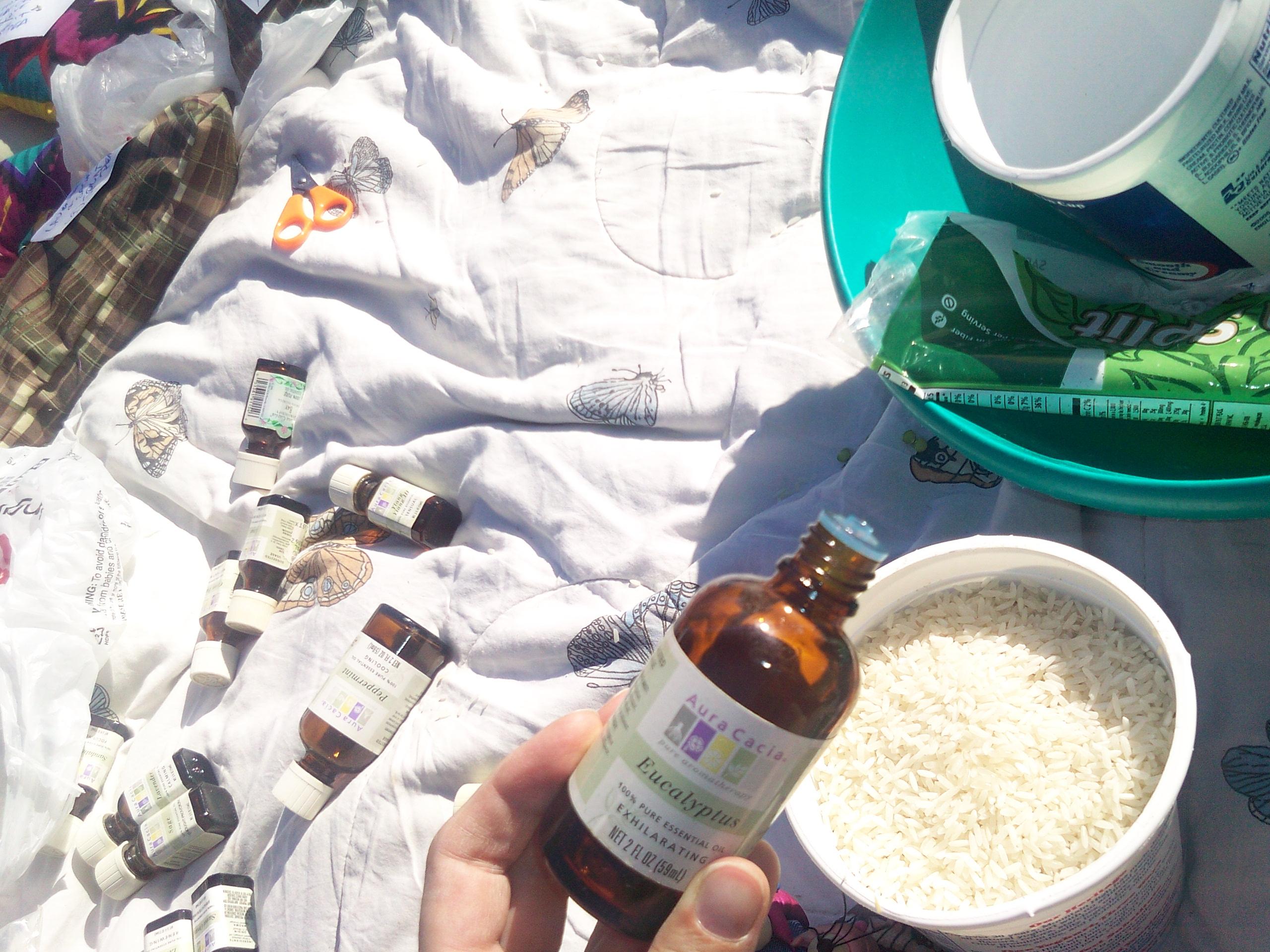 pouring-eucalyptus
